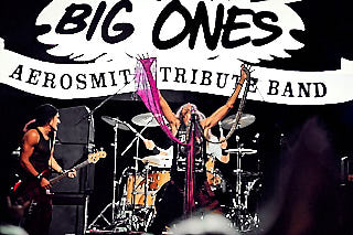 Big Ones a tribute to Aerosmith live auf der Festung Ehrenbreitstein, Koblenz am 08.08.2019