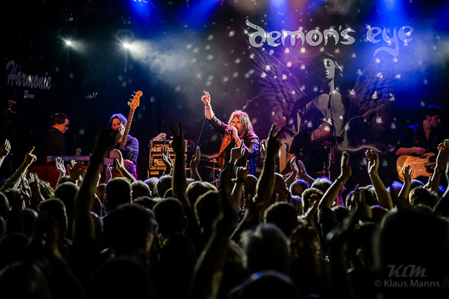 "Demon's Eye ""Under The Neon Tour"" feat. Doogie White on vocals, Harmonie Bonn, 26.02.2016"